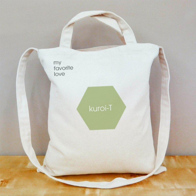 【Customized gifts】 text summer fresh color straight canvas bag, 6 colors optional - their own bags of their own printing