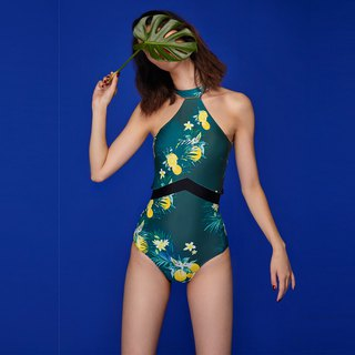Tia - One Piece Swimwear Color: Citrus (CREX109)