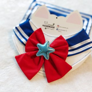 Sailor Moon shape sailor moon month hare pet scarf / neck ornaments