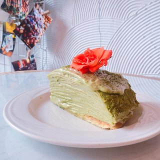 【Flower Pie Pie】 Double Tea (Matcha Roasted Tea) Kashida Melaleuca (Six Tears)