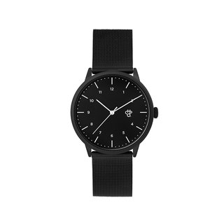 Rawiya Series - Noir Black Dial - Black Milan with Adjustable Watch