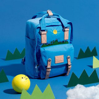 Doughnut x LOOPY / Little mountain backpack / Sky blue