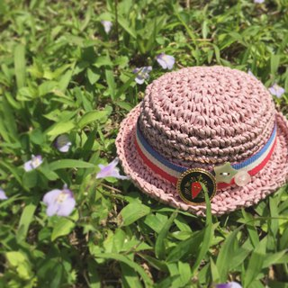 Minimuichan (MMC) sister, Holala can wear size. Hand-woven paper hat