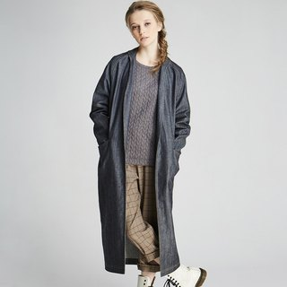 Tannin long coat (1702CT01BL-S / M)