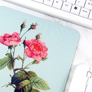 Coral Flower Mouse Pad Natural Desk Accessories