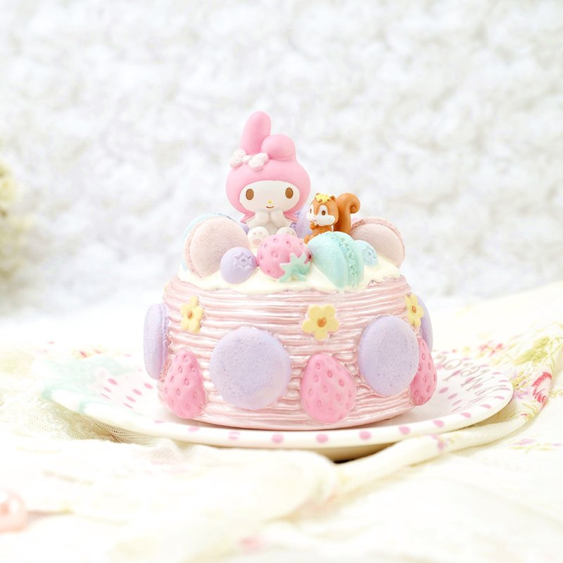 My Melody Dessert Music Bell Decoration + Plate