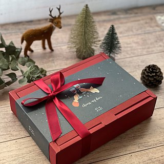 + Miss Sen's tea shop + German fruit tea and natural fresh fruit gift box Christmas exchange gift
