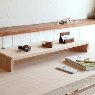 Pre-ordered - wide version - 原 type log screen frame - keyboard stand - small shelf - public version 3