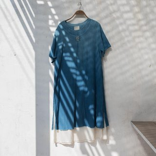 Hanoi dress 2 | Indigo Natural Dyed