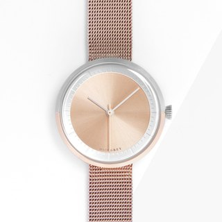 TWO-TONE ROSE GOLD MG003 MINI | MESH BAND