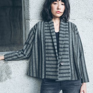 Discount Short Jacket - Stripe