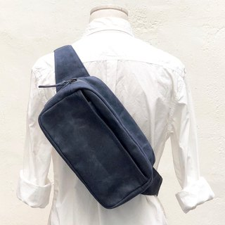 Amberg square body bag 長方型隨身腰包