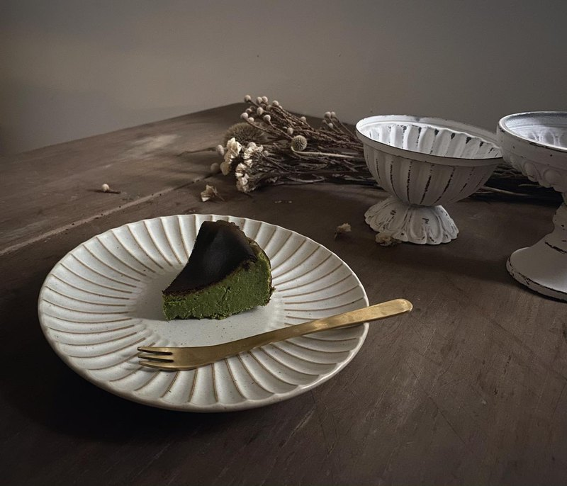 巴斯克抹茶燒乳酪蛋糕 5吋 (無麩質)