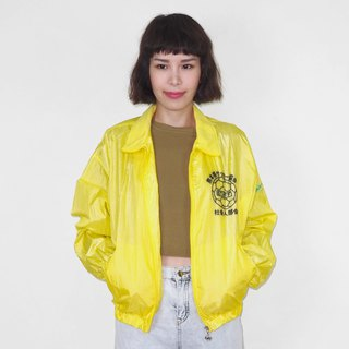 Kumamoto Prefecture Ministry of Social Affairs will bright yellow retro windproof vintage jacket BM3008