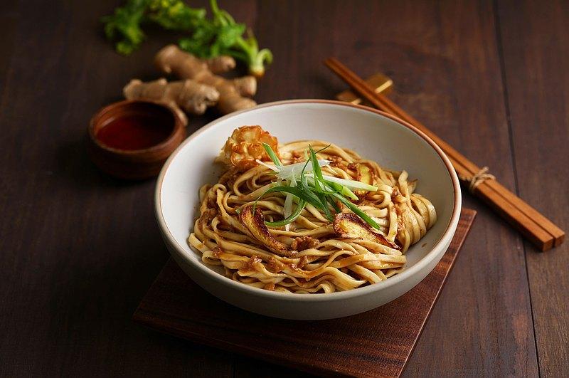 麻油猴頭菇醬拌麵 新品