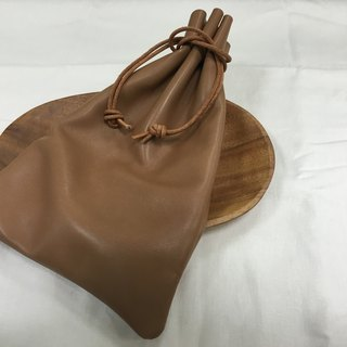 Bunch of leather storage bag -XL