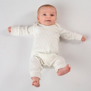 First kisses collection  100% Organic GOTS baby grow