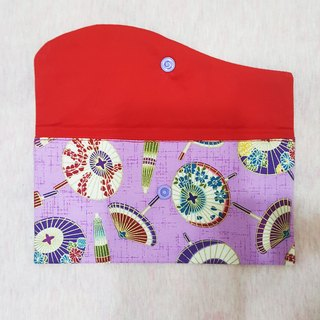Purple umbrella finely decorated elegant New Year red envelopes *