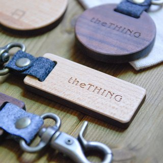 KeepItSimple returns to a simple wooden key ring