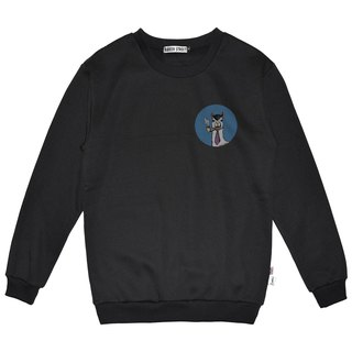British Fashion Brand -Baker Street- Little Stamp:Smokin'  Printed Sweater