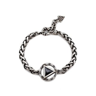 Play key Zircon bracelet