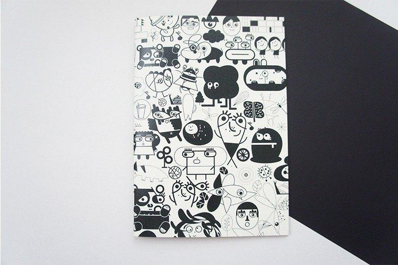 No114 筆 記 本 -- 黑色1號
