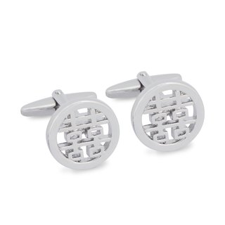 Double Happiness Cufflink