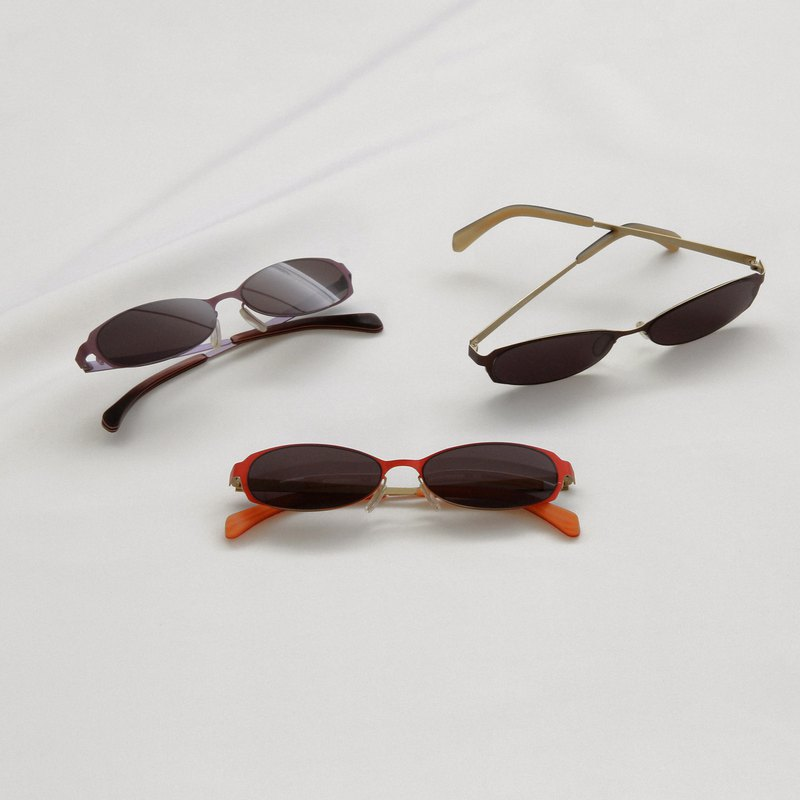 Retro 90 窄墨鏡∣UV400太陽眼鏡