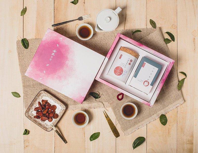 【送禮首選】果然是好茶小禮盒-(在地果乾+台灣好茶)