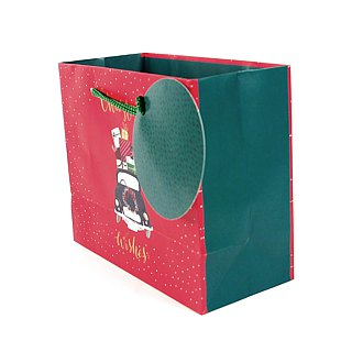 The car is filled with a bunch of gifts [Hallmark-Gift Bag/Paper Bag Christmas Series]