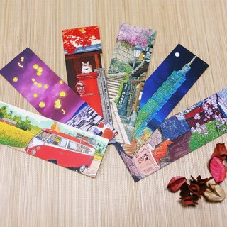 [㊣ Taiwan Artist - Linzong Fan] Bookmark - Set Collection group - buy 5 get 1