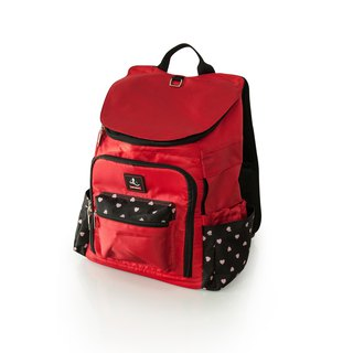 After the pet goes out, the backpack _ pepper red