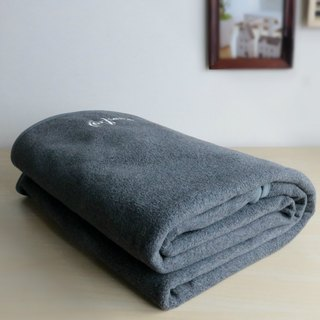 Eco-friendly Cozy Blanket and Bedroll | 100% green synthetic fibers Size L