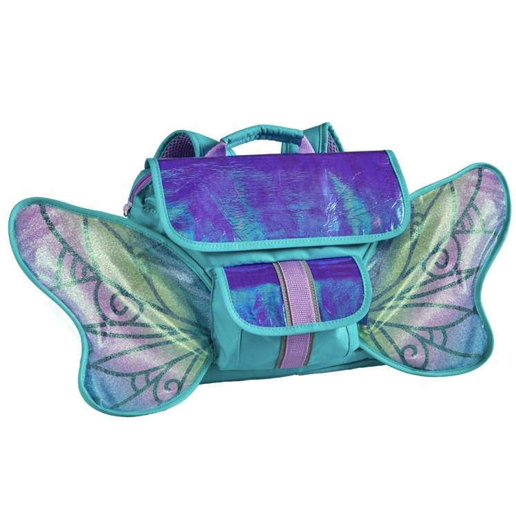 The United States Bixbee fly flying playful LED series - snow butterfly Fairy child backpack