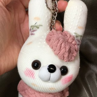 Xiao Meng rabbit 03 socks doll strap / current product / Martin hand-made