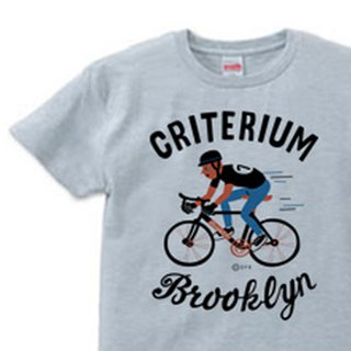 Brooklyn · Bicycle race S ~ XL T-shirt 【Custom order】