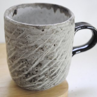 A smooth mug, 8 oz.
