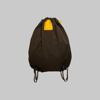 grion waterproof bag - back section (M) - Limited models - dark gray denim