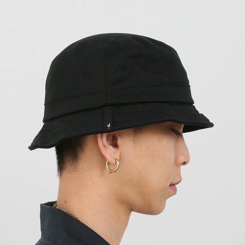Proportion forgotten black fisherman hat