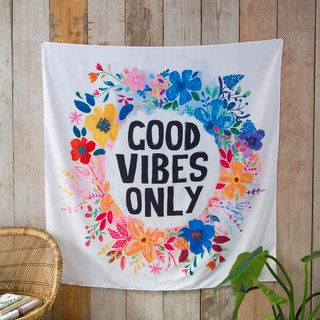Wall-mounted draper / alcove - Good Vibes Only | TPST019