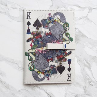 Phibe Master Passport Cover Case [White] - The Magician Collection