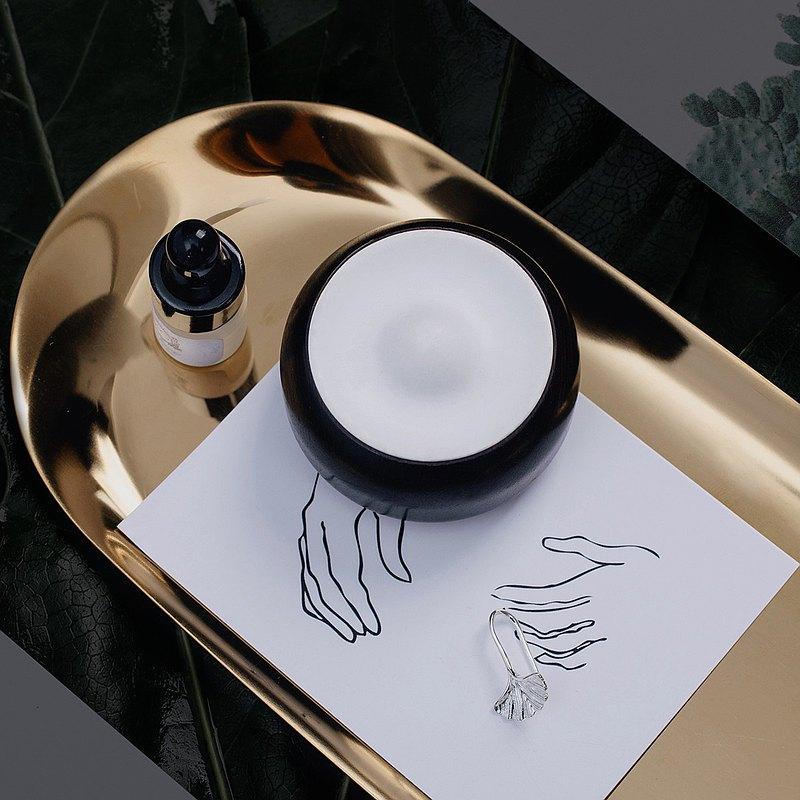 齊季看山擴香器車載桌面擺件矽藻土香氛器精油擴香木隨身持久淡香