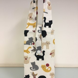Eco-friendly beverage bag, accompanying bag, breakfast bag, cat playground