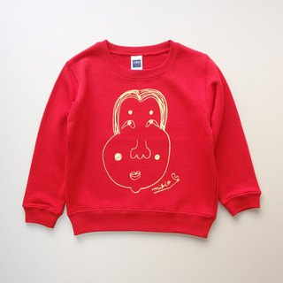 Okame Kids Sweatshirt Red