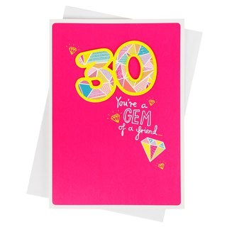Shining 30th Birthday [Hallmark - Card Birthday Blessing]