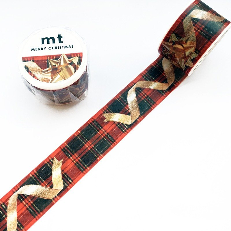 mt Masking Tape Christmas 2017【Christmas Ribbon (MTCMAS81)】