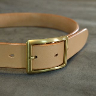 Hand sewn original Italian tanning belt (can be tailored)