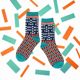 Windows Indigo Unisex Crew Socks | mens socks | womens socks | comfortable socks