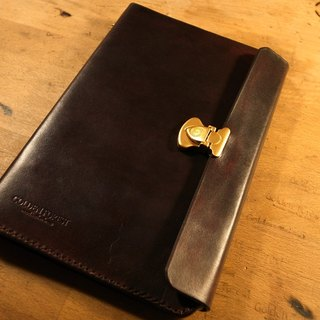 Golden Forest Handmade Stained A5 Classical Lock Notepad