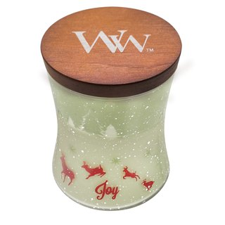 [WW] VIVAWANG joyous Christmas JOY- 10oz cup curve wax